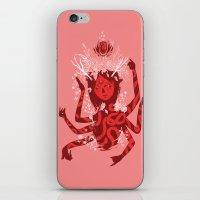 shiva iPhone & iPod Skins featuring shiva by takcooper