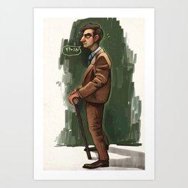 Hannibal- Dr. Friendly Art Print