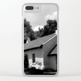Irish Cottage Clear iPhone Case