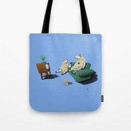 Sheep (Colour) Tote Bag