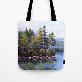 Reflecting Pines Tote Bag
