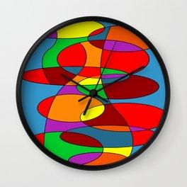 Abstract #22 Wall Clock