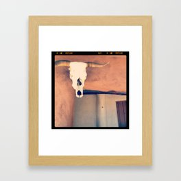 Ghost Ranch, New Mexico Framed Art Print