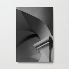 PiIlar and Arches Metal Print