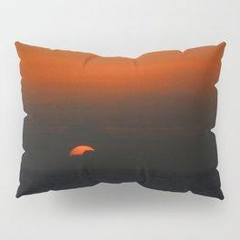 cloudy sunset seascape Pillow Sham