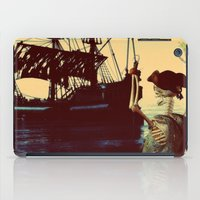 pirate ship iPad Cases featuring pirate ship by Ancello