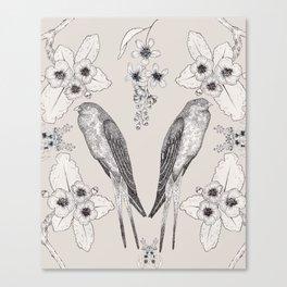Summer Swallow Canvas Print