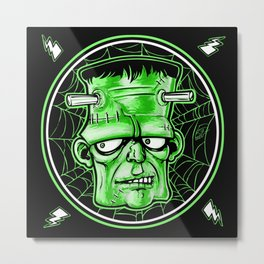 Electric Stein Metal Print