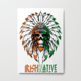 Irish Native Metal Print