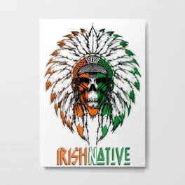 Irish Native Metal Print