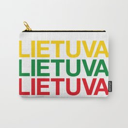 LITHUANIA Carry-All Pouch