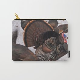 Turkey Snow Dance Carry-All Pouch