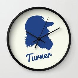 Justin Turner Wall Clock