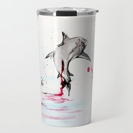 Stop Shark Finning Travel Mug