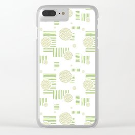 Imperfection in Green Clear iPhone Case