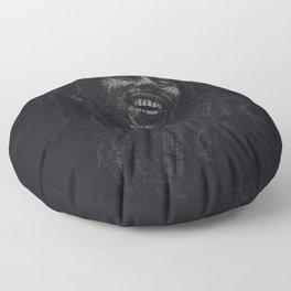 Tuff Gong Marley Text Art Floor Pillow