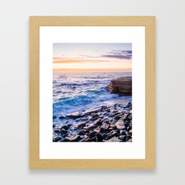 Rocky Coastline at La Jolla Shores Fine Art Print Framed Art Print