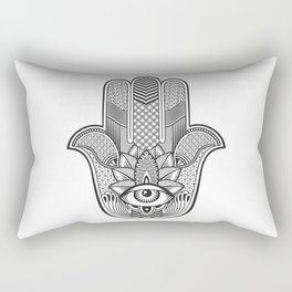 Hamsa Custom Rectangular Pillow