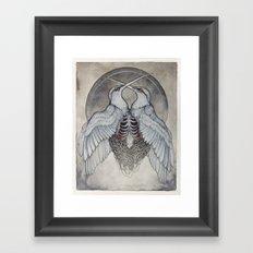 Coalesce art print  Framed Art Print