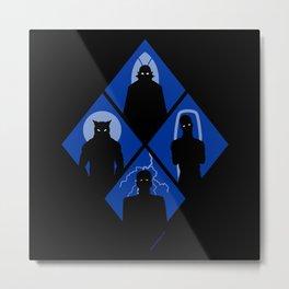 Classic monsters Metal Print