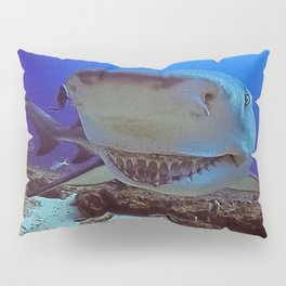 Snooty Shark Portrait Pillow Sham