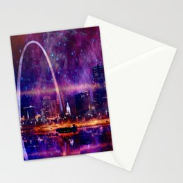 Cosmic St Louis Stationery Cards