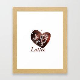 lattee Framed Art Print