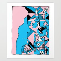Study no. 3 Art Print