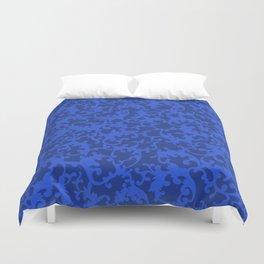 Sapphire Ornamentation Duvet Cover