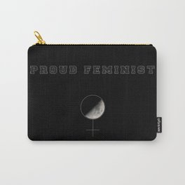 Proud Feminist Carry-All Pouch