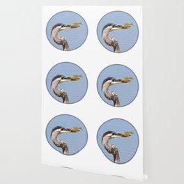Great Blue Heron Fishing - I Wallpaper