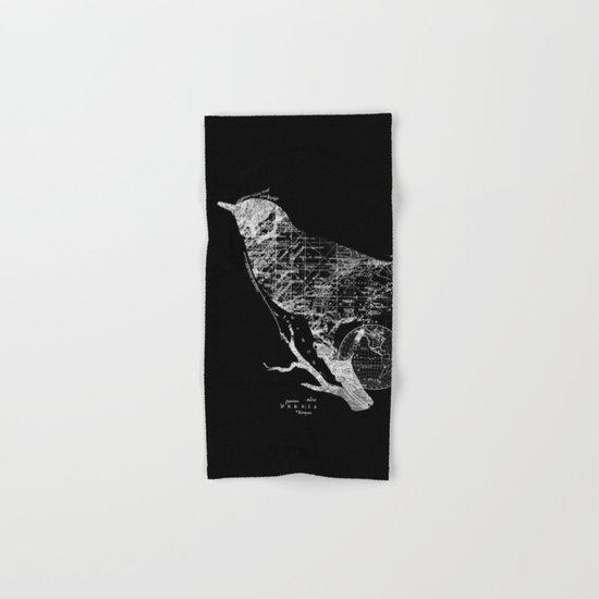 Bird Wanderlust Hand & Bath Towel