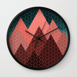 Blood Mountain Wall Clock