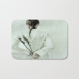The contemplation of the hours. Bath Mat