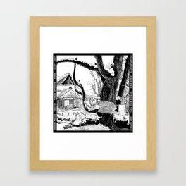 Hidden Picture Fun! Framed Art Print
