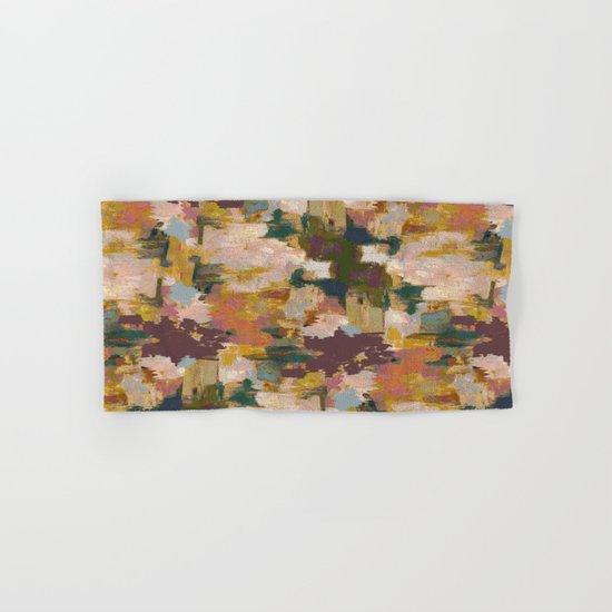Watercolor Pattern Hand & Bath Towel