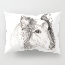 Remembering Maggie :: A Tribute to a Collie Pillow Sham