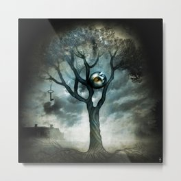 Lunar light  Metal Print