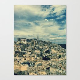 I sassi di Matera Canvas Print