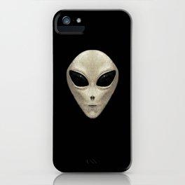 Grey Alien iPhone Case