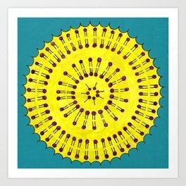 Vesicle Mandala 03 Art Print