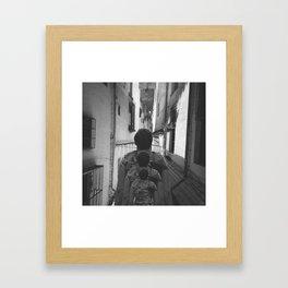 #Doppelgänger #Standoff - 20160901 Framed Art Print