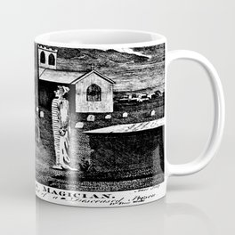 A Magician. in the Act of invoking the Spirit of a Deceased Person Coffee Mug