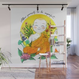 The Buddhist Monk Wall Mural