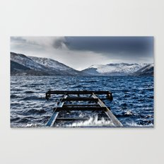 The Loch Canvas Print