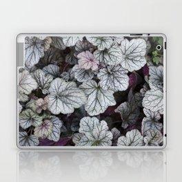 Silver Scrolls Laptop & iPad Skin