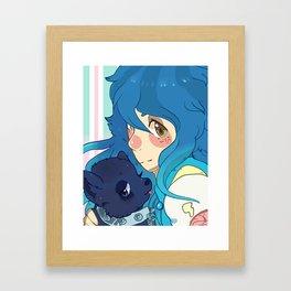 aoba seragaki Framed Art Print