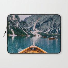Canoe Mountains (Color) Laptop Sleeve