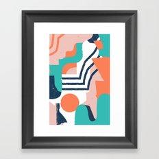 Smotth Senses Framed Art Print