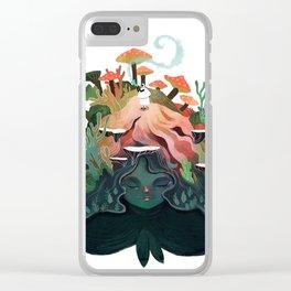 The Fairy Gardener Clear iPhone Case